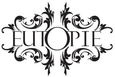 EUTOPIE LOGO - white & black