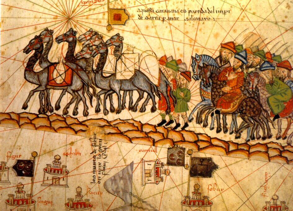 Catalan Atlas caravan 1375