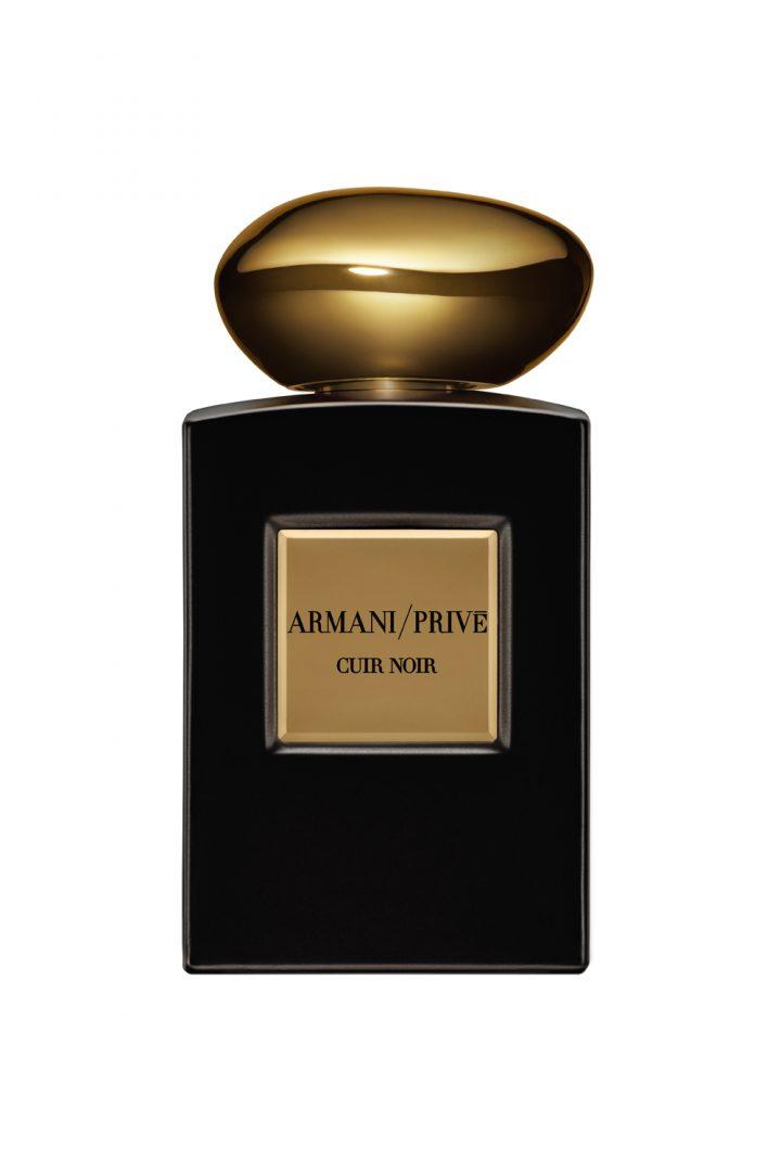 Armani Privé Cuir Noir