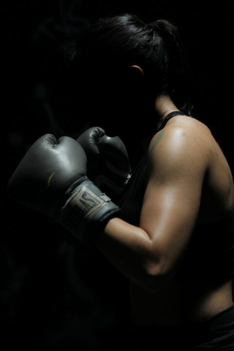 https://www.pexels.com/photo/photo-of-woman-in-boxing-gloves-1608099/