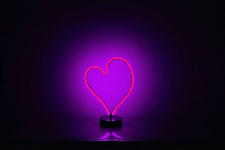 https://www.pexels.com/photo/light-red-love-heart-895225/