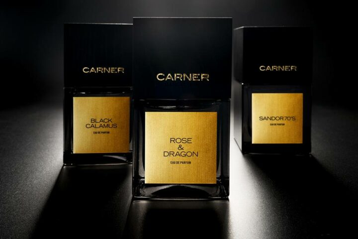 Carner Barcelona – Rose & Dragon – Black Calamus – Sandor 70's – Black Collection