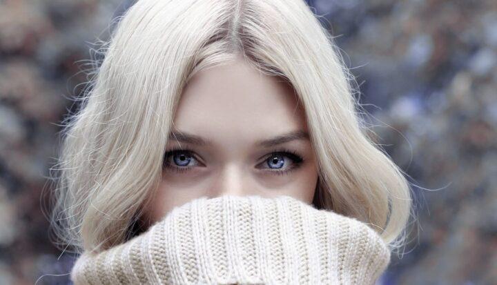 https://www.pexels.com/photo/woman-in-gray-turtleneck-sweater-3765547/