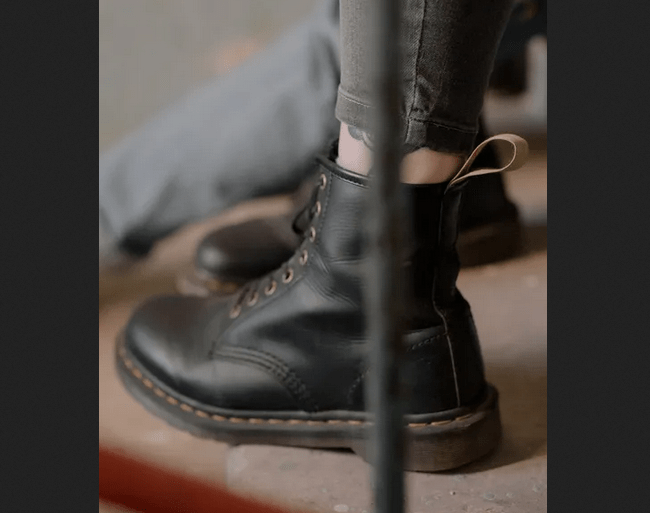 https://www.pexels.com/photo/person-wearing-black-leather-boots-4786126/