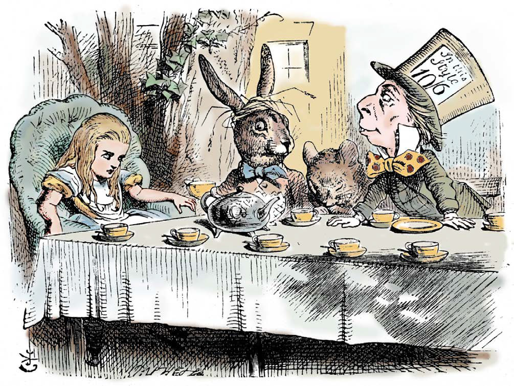 Alice im Wunderland – Macmillan, 1865